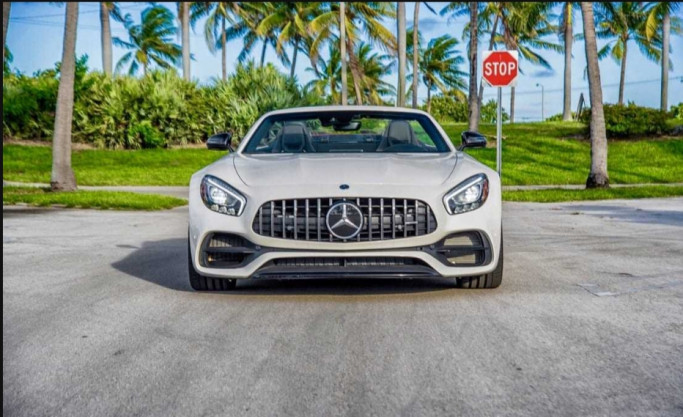 Luxury cars in miami